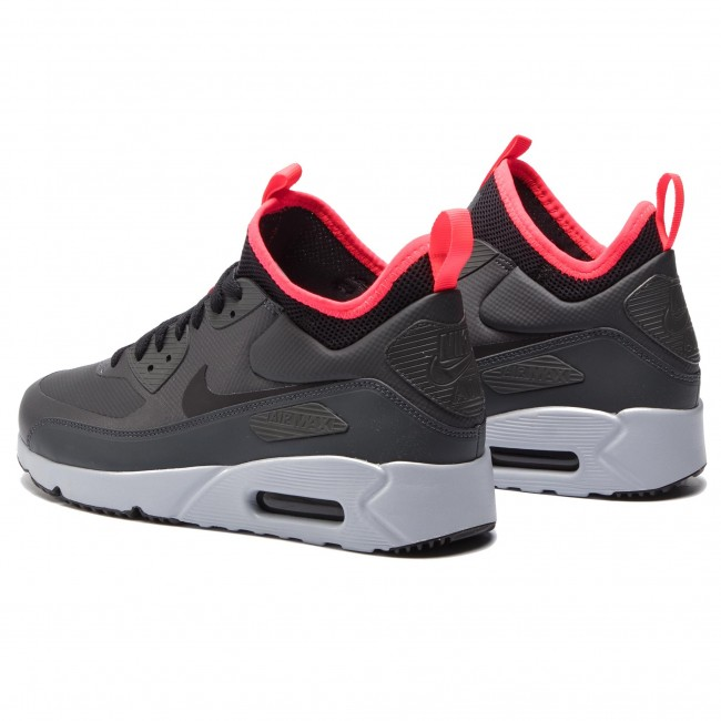 best cheap f400e 5a317 Chaussures NIKE - Air Max 90 Ultra Mid Winter 924458 003  Anthracite Black Solar