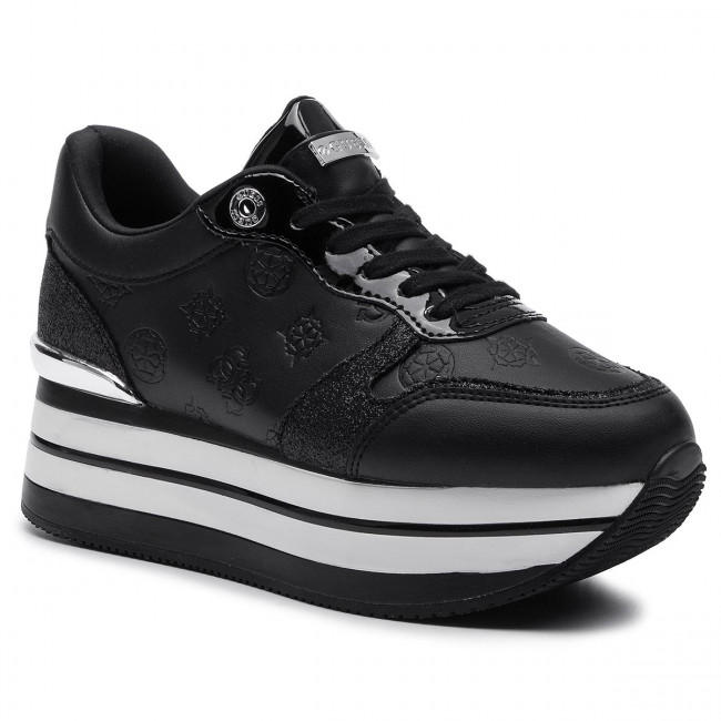 Black Femme Ele12 Hinders3 Fall Fl7hn3 Pre Guess winter 2019 Sneakers Chaussures Basses 76gyvYbf
