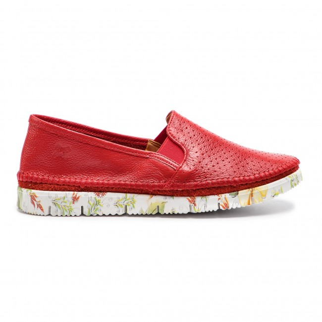2019 28 Maciejka Spring 00 Femme Basses summer Plates 0 3512a Rouge Chaussures JFcl1K