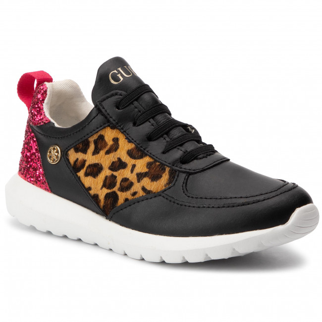 Enfant Fi7dai a Chaussures Sneakers Fille Basses 2019 Lea12 Lacets Fall winter Pre Guess Blk 80knXPwO
