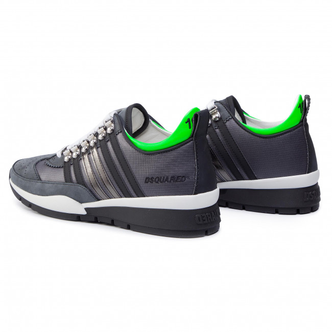 2019 71800001 Dsquared2 Snm0101 251 Spring M178 Sneakers Homme Basses summer Grigio nero Chaussures CxtsBQrdh