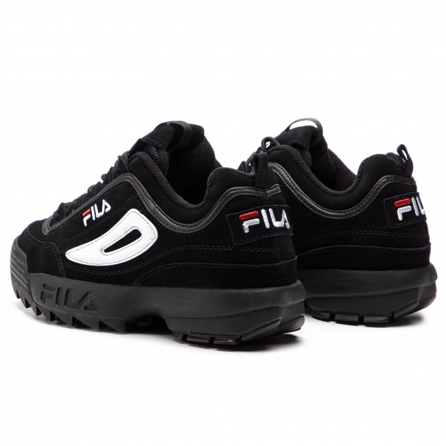 S Black Low Fila 12v black Sneakers 1010490 Disruptor KcF1uJTl53