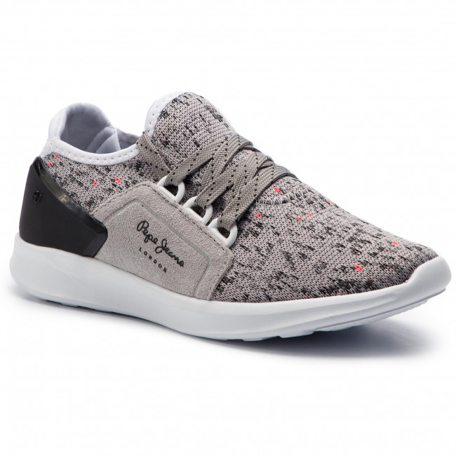 6df4ca6f8f9 Sneakers PEPE JEANS - Jayden Casual Boy PBS30393 Grey 945 - À lacets ...