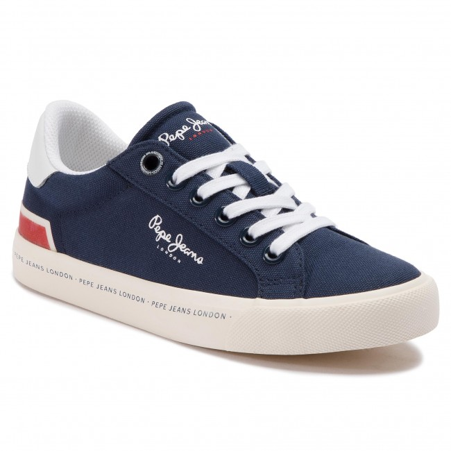 595 Spring 2019 Pbs30402 Lacets summer Canvas Tennis Gar Enfant a Pepe on Navy Chaussures Basses Jeans A34RL5j