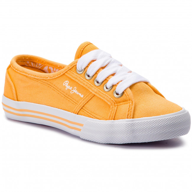 Baker Canvas Rugby Tennis Yellow 069 Pepe Jeans Pgs30381 Iyv7fYb6g