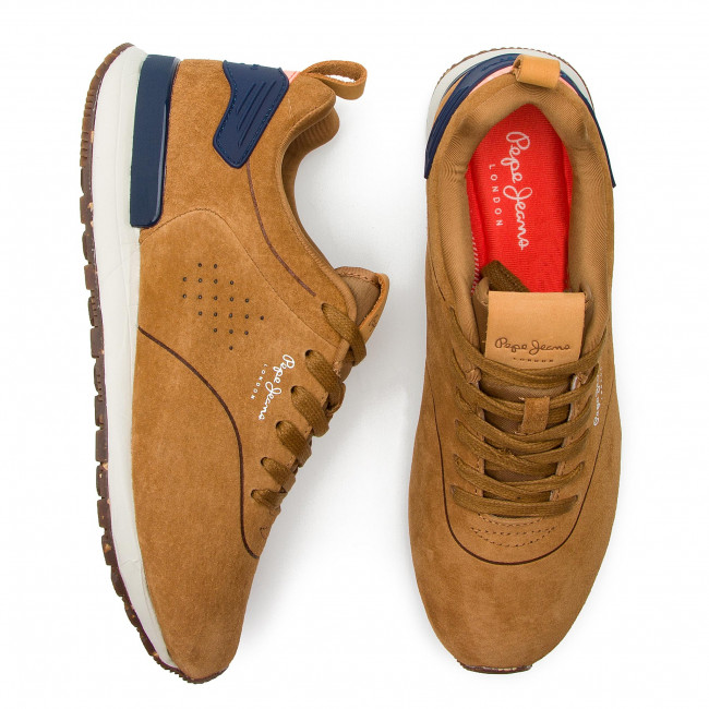 summer Homme Smart 2019 Boston Jeans Chaussures Pms30520 869 Pepe Sneakers Spring Tan Basses b67gvIyYf