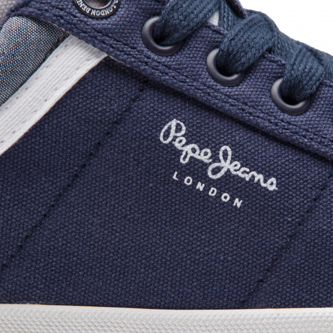 summer North Pms30530 2019 Basses Chaussures 595 Spring Court Sneakers Jeans Navy Homme Pepe 7YgybfvI6