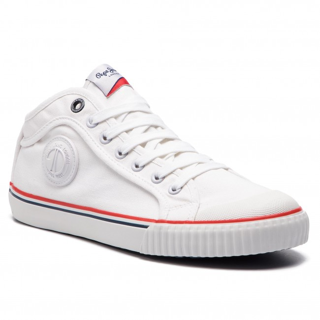 Pepe Jeans 800 Sneakers White Pms30533 Industry Basic eHWYIE29D