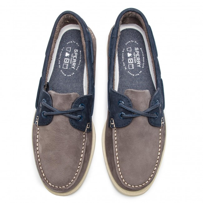 Sperry Grey Sts17370 Sperry Mocassins navy Grey Sts17370 Mocassins bfmIygY7v6