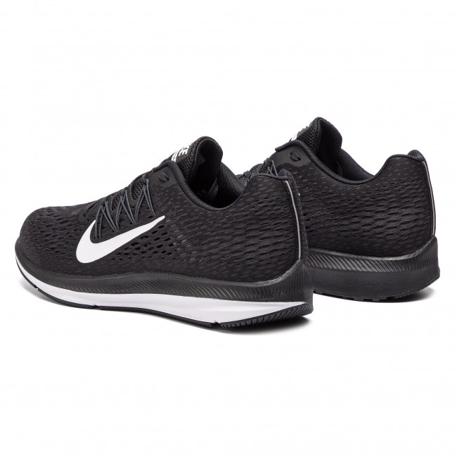 Nike Zoom Winflo 5 Chaussures 001 anthracite Aa7406 Black white D2YWEH9I