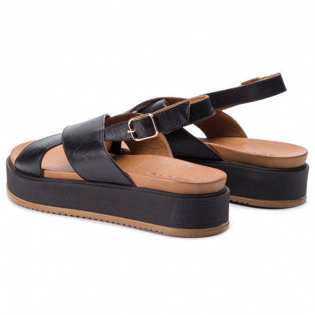 Black Sandales Sandales 112032 Inuovo 112032 Inuovo EY92DHIW