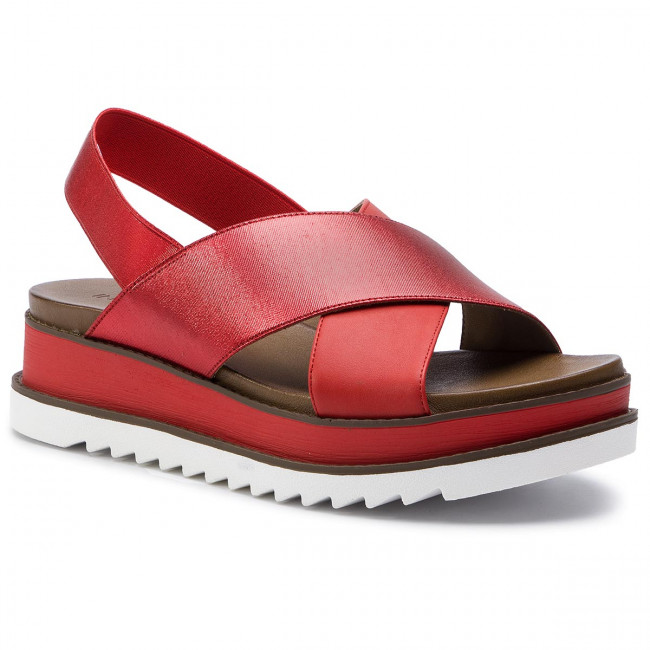Et Compensees Cherry Inuovo Sandales summer 2019 Mules Femme Spring 129002 m0w8OnvN