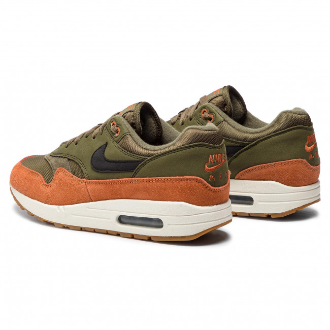brand new 61884 81e71 Chaussures NIKE - Air Max 1 AH8145 301 Olive Canvas Black Dark Russet