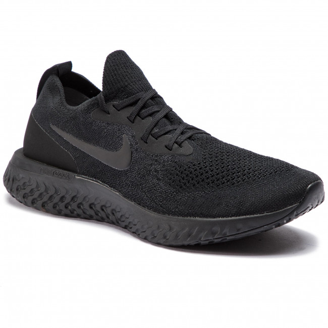 the best attitude 508ae a0926 Chaussures NIKE - Epic React Flyknit AQ0067 003 Black/Black/Black ...