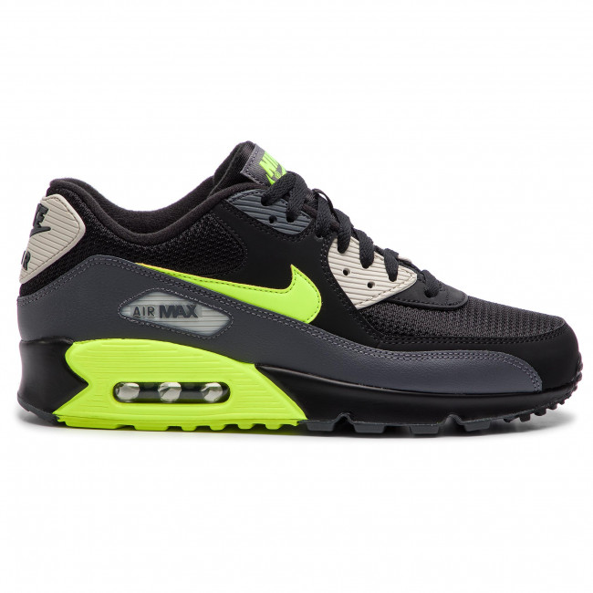 brand new 6f79a 0efec Chaussures NIKE - Air Max 90 Essential AJ1285 015 Dark Grey Volt Black