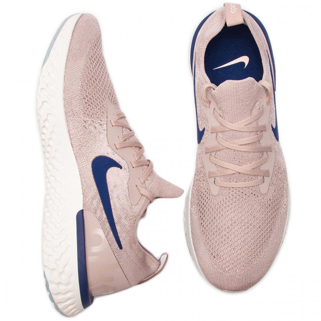 Flyknit Chaussures Nike Epic React 201 Aq0067 Diffused Void Taupe blue 453ARjL