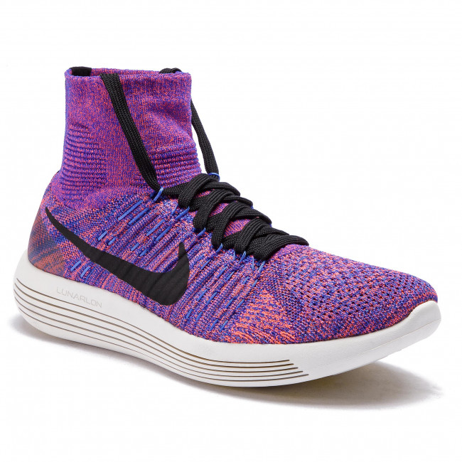 the latest 5d65e 287d6 Chaussures NIKE - Lunarepic Flyknit 818676 402 Paramount Blue/Black ...