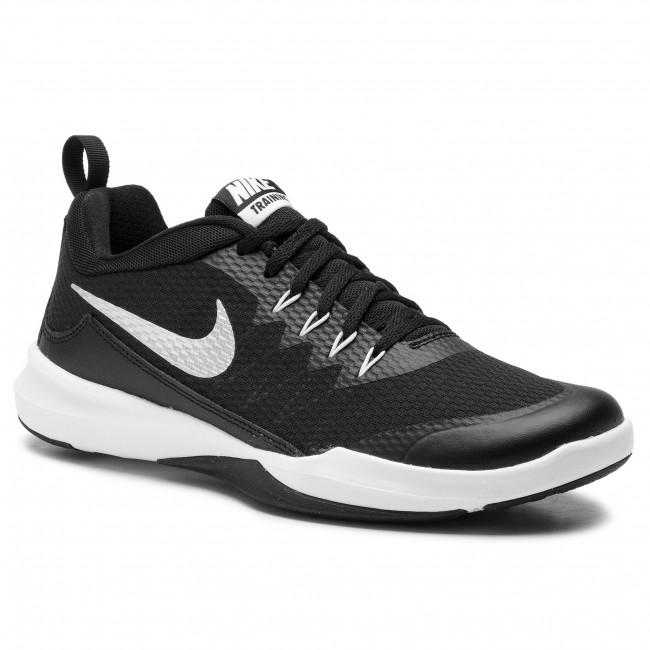 brand new fe43d a1c26 Chaussures NIKE - Legend Trainer 924206 001 Black Metallic Silver White