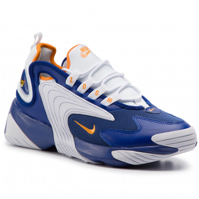 best loved 80887 44557 Chaussures NIKE - Nike Zoom 2K AO0269 400 Deep Royal Blue Orange Peel