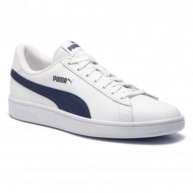 Puma L V2 Whitepeacoat Smash 02 Sneakers 365215 m0ON8nvw