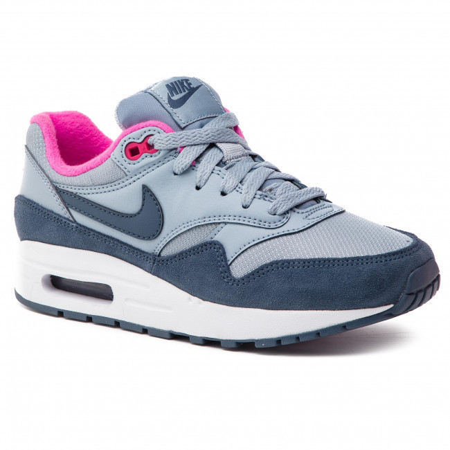 outlet store 74bcd 02cb4 Chaussures NIKE - Air Max 1 (GS) 807605 400 Obsidian Mist Monsoon Blue