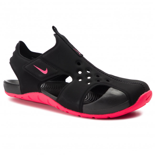 size 40 038b0 1c214 Sandales NIKE - Sunray Protect 2 (PS) 943826 003 Black Racer Pink