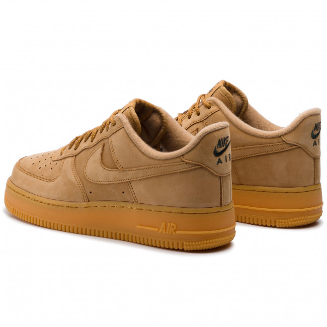 Chaussures NIKE Air Force 1 '07 Wb AA4061 200 FlaxFlaxGum Light Brown