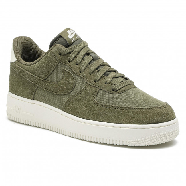 be3c7e7468c Chaussures NIKE - Air Force 1  07 Suede AO3835 200 Medium Olive Medium Olive