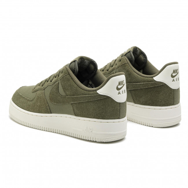 Medium Chaussures Fall Homme Air Ao3835 Olive 1 Force '07 medium sail Olive Sneakers Basses 2018 winter 200 Nike q4 Suede xBeCorWQd