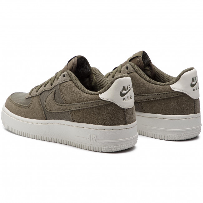 Chaussures NIKE Air Force 1 Suede (GS) AR0265 200 Medium OliveMedium OliveSail OliveMedium OliveSail