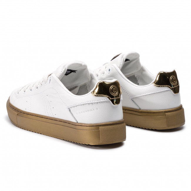 White Sneakers Colmar 178 gold Glass Bradbury eCordBx