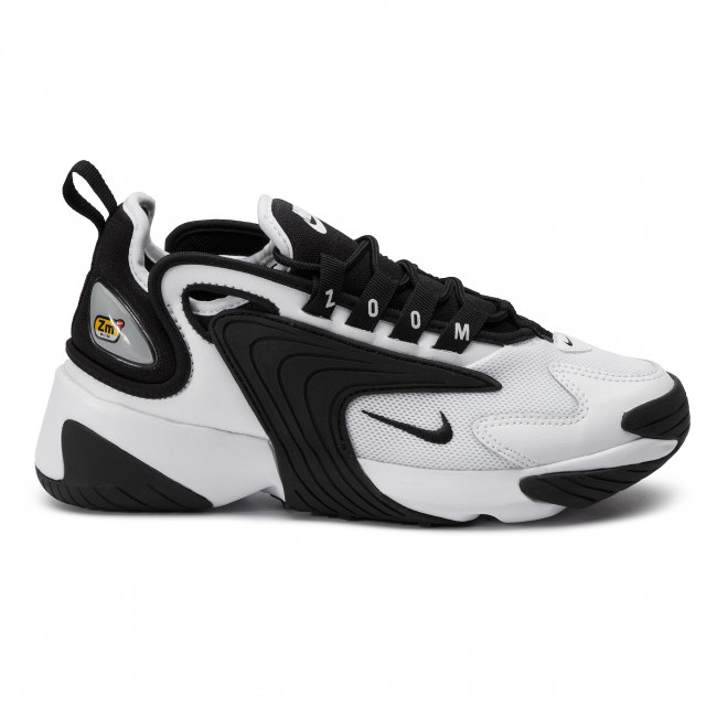 new products aa13e 3a12d Chaussures NIKE - Zoom 2K AO0354 100 White Black