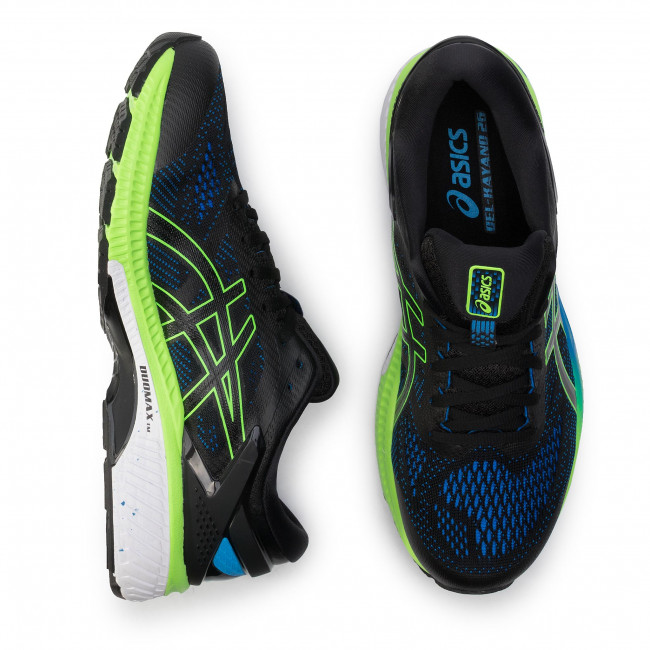 Chaussures ASICS Gel Kayano 26 1011A541 BlackElectric Blue 003