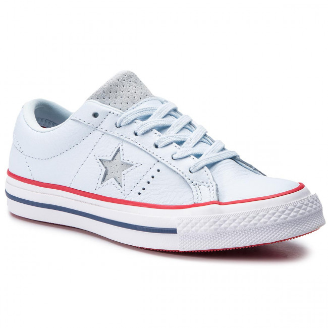 7130246ad2a81 Tennis CONVERSE - One Star Ox 160626C Blue Tint Gym Red White ...