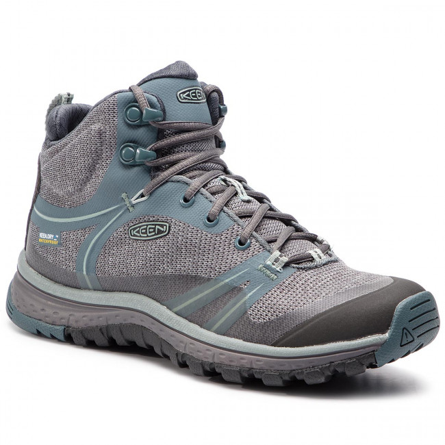 77e51ddb220 Chaussures de trekking KEEN - Terradora Mid Wp 1019875 Stormy  Weather Wrought Iron