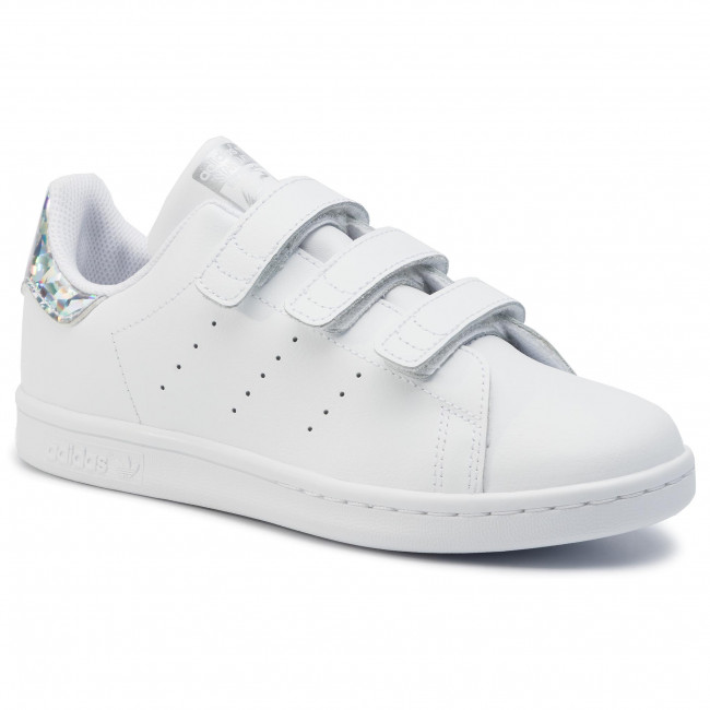 Fall Adidas Fermeture Fille Ftwwht winter Ee8484 Cf 2019 Basses Enfant cblack Scratch q3 Stan ftwwht Chaussures C Sneakers Smith WD2beYH9EI