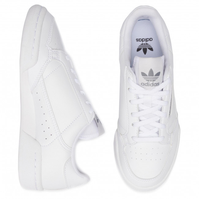 Chaussures adidas Continental 80 J EE8383 FtwwhtFtwwhtGreone