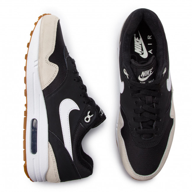 Chaussures NIKE Air Max 1 AH8145 009 BlackWhiteLight Bone