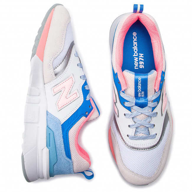 Beige Chaussures Cw997hbc q2 New Balance Multicolore Basses Sneakers summer Femme Spring 2019 2D9EHI