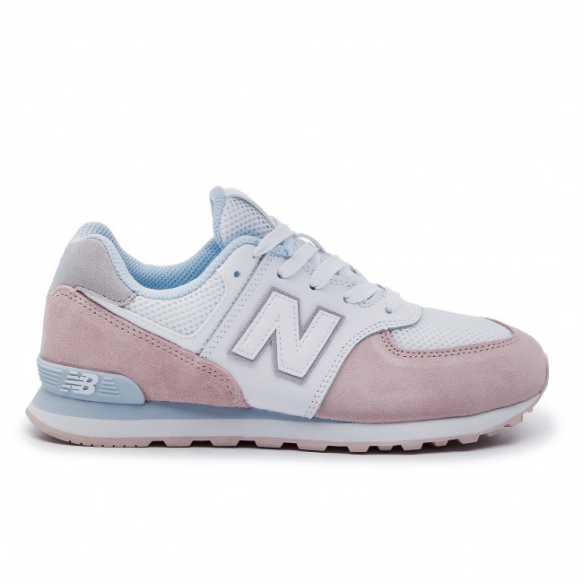 Rose Balance Blanc Sneakers New Gc574nse oxBCde