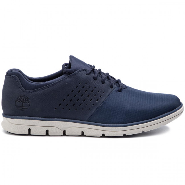 Homme Tb0a21du019 Basses Timberland Spring summer 2019 Chaussures Sneakers Bradstreet Nubuck Navy n80wvNm