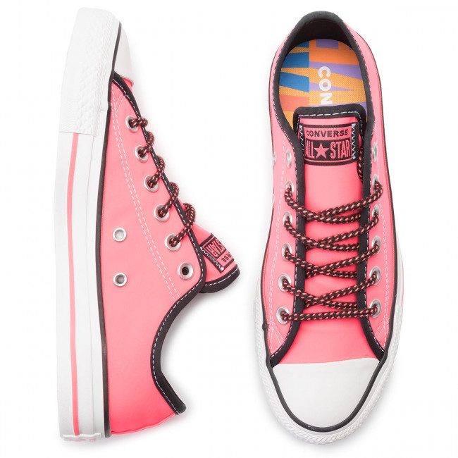 q2 black Chaussures Basses 2019 Ctas white Pink Ox 164094c Sneakers Converse Femme Racer summer Spring Baskets N8vPynOm0w