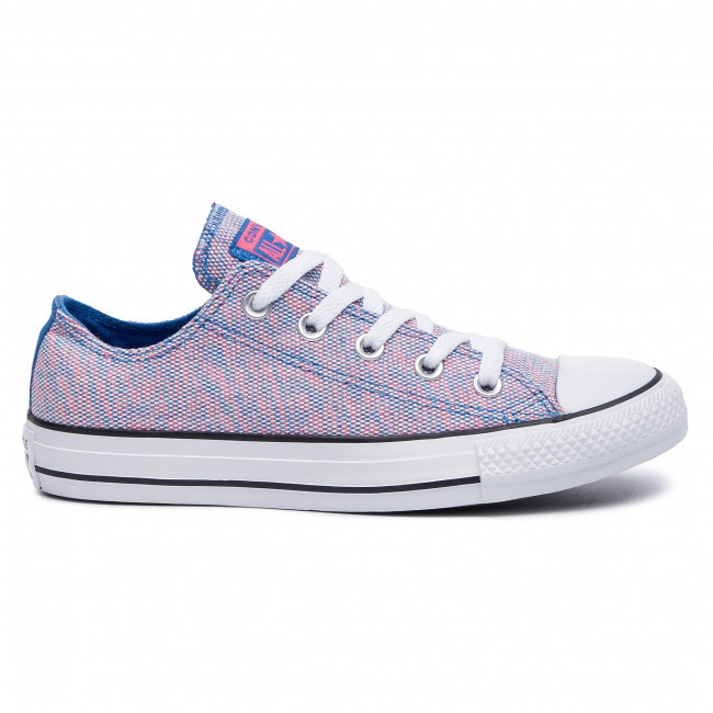 Converse 2019 Ctas summer 164417c white Totally Femme q2 Blue Chaussures Basses Spring Ox racer Sneakers Pink Baskets Iyvmf7Yb6g