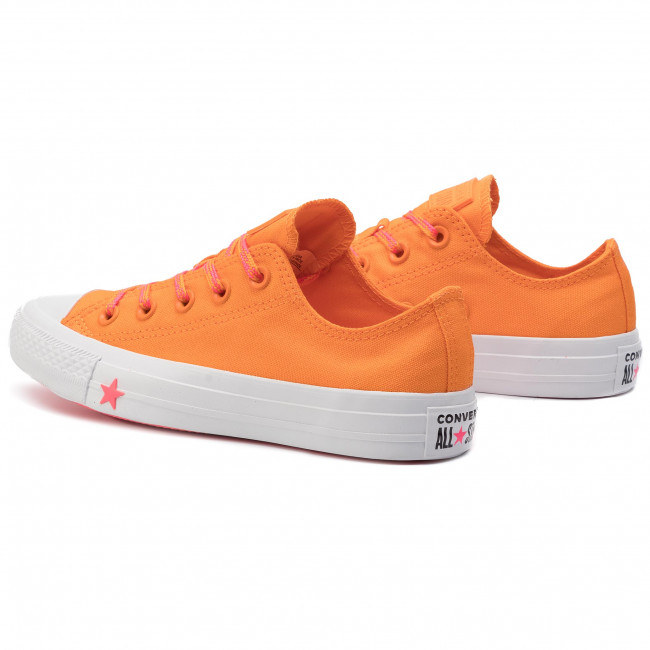 Converse Femme 2019 Baskets 564115c Ox white Orange Sneakers Rind q2 Spring summer Ctas Pink racer Chaussures Basses edBoCx