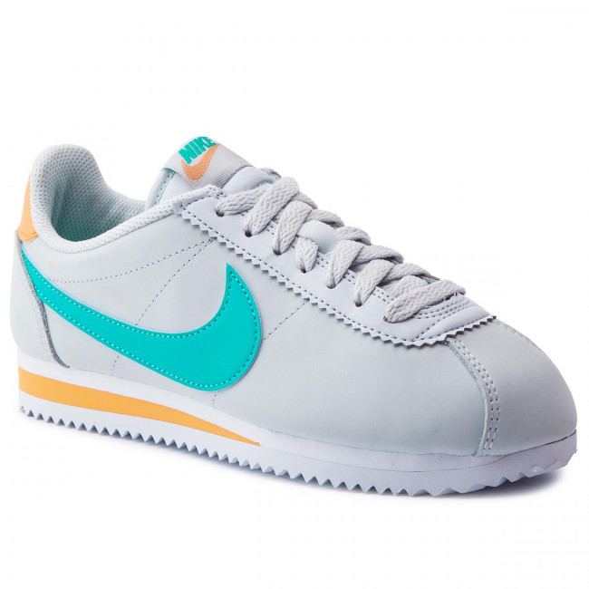 Spring summer Basses Classic hyper Femme q2 Platinum 2019 Sneakers 019 Jade Cortez Leather 807471 Pure Nike Chaussures ZOPkXNwn80