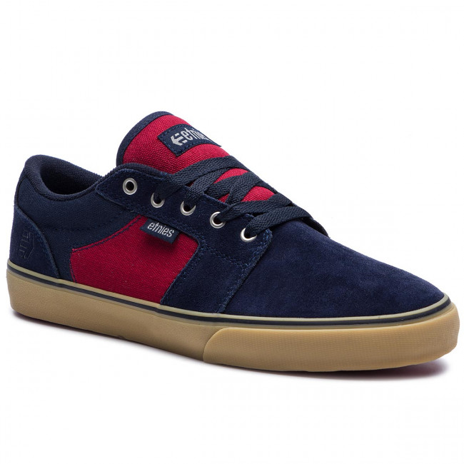Etnies Basses 466 2019 4101000351 Baskets Chaussures Barge Navy red summer Spring Tennis Homme Ls gum WI9E2DH