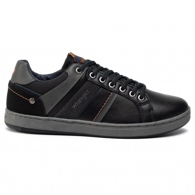 2020 Plus Récent Chaussures homme Sneakers WRANGLER - Marshall Paso WM92120A Black 062 - Sneakers - Chaussures basses - Homme KLZZd