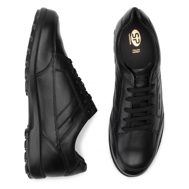 U Basses Nappa Chaussures winter Sneakers Romaryc 00085 Fall 2019 Black B C9999 U945eb Geox Homme hQdtxsCrB