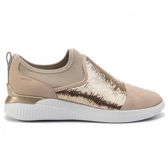 D848sa Ch62x Sandales Taupe Sneakers Femme gold Spring summer 2019 Basses D 085at A Chaussures Theragon Geox Lt vN0mnO8w