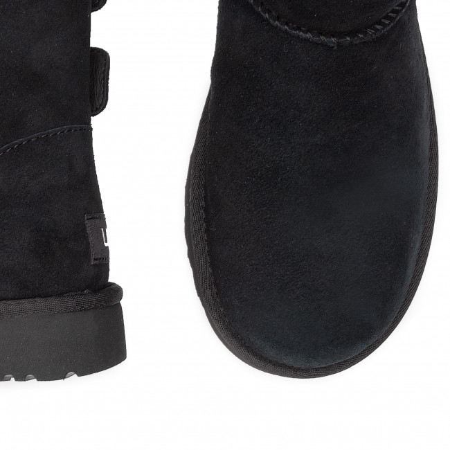 Abordable Chaussures femme Chaussures UGG - W Bailey Fluff Buckle 1104183 W/Blk - UGG - Bottes et autres - Femme nplYI